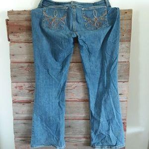 Wrangler Jeans - Wrangler blue jeans